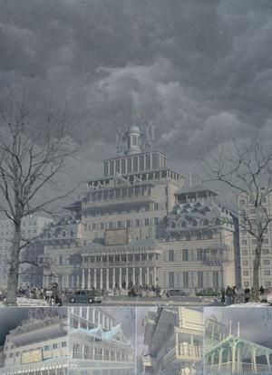 Архитектура Никогда 2014: Ратуша для Новосибирска. Егор Филиппов. Новосибирск