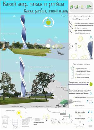 Архитектура Никогда 2014: Ратуша для Новосибирска. Регина Ростова, Ульяна Холоднова. Новосибирск