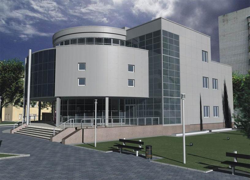 Административное здание по ул. Д. Ковальчук в Новосибирске. ООО «АПМ-Сайт»