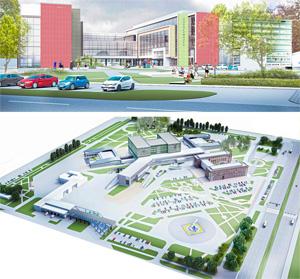 Проект центральной районной больницы на 400 коек. ООО «Профиль»