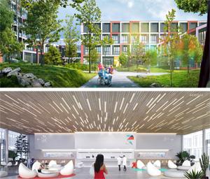 Проект центральной районной больницы на 400 коек. ООО «ЮНК проект»