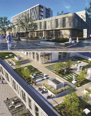 Проект центральной районной больницы на 80 коек. ООО «Жилпроект»