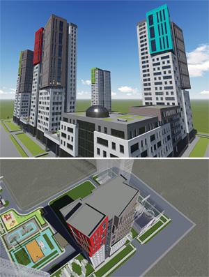 Проект жилого комплекса «ЧеховSky» в Новосибирске