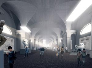 Проект музея современного искусства на территории Придворно-Конюшенного ведомства