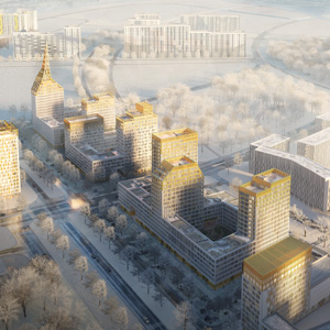 Проект Golden City, кварталы 6,7. Васильевский остров, Санкт-Петербург