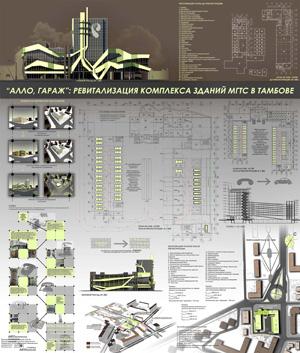 «Алло, гараж». Ревитализация комплекса зданий МГТС в Тамбове