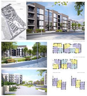 Архитектурно-градостроительная концепция нового микрорайона западнее д. Ожогина. Тюмень