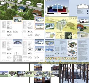 Быстровозводимый дом экономичного класса с земельным участком и универсальной интерактивной оболочкой
