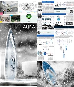 """Концепция высотного научного центра """"Aura"""""""