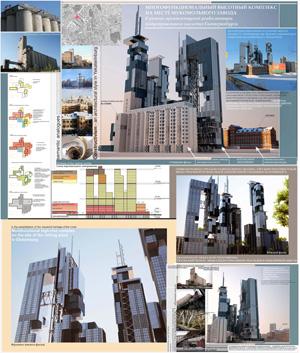 Концепция застройки территории мельзавода в рамках сохранения индустриального и конструктивистского архитектурного наследия. Екатеринбург