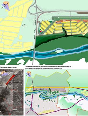 Проект планировки территории поселка на 8500 жителей в Оренбургской области
