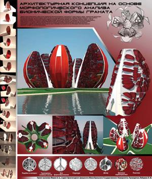Проект-концепция отеля «ГРАНАТ»