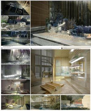 Санаторно-курортный комплекс. Водолечебница на термальных источниках