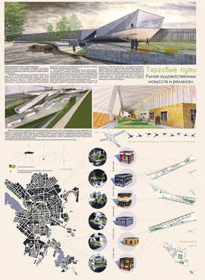 Концепция Рынка Изобразительных Искусств и Ремесел в Екатеринбурге