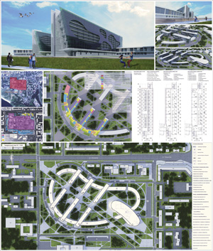 Проект комплекса студенческого городка ТПУ