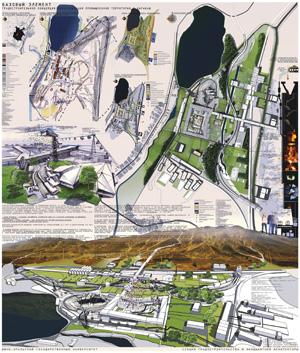 Базовый элемент. Градостроительная концепция ревитализации промышленной территории г. Карабаш