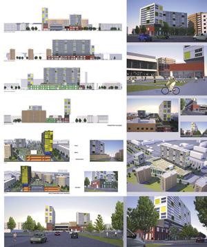 Концепция застройки квартала «Юбилейный» в Волгограде