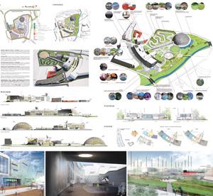 «Спутник» — концепция планировочного и архитектурного решения комплекса дворца науки и техники школьников Санкт-Петербурга