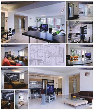 Интерьер трехкомнатной квартиры в Барнауле с перепланировкой и реконструкцией