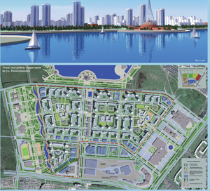 Эскиз застройки и проект межевания территории по ул. Рокоссовского в КАО г. Омска