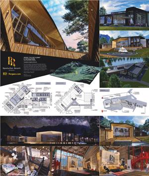 Проект курорт-отеля «Русский дом» в Лихтенштейне