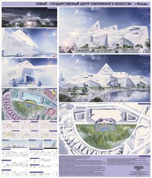 Концепция музея современного искусства в Москве