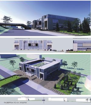Архитектурное решение оболочки ДК «Академия» в новосибирском Академгородке. «AB SolArt»
