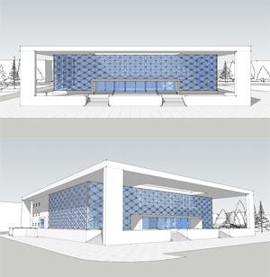 Проект реконструкции ДК «Академия» в новосибирском Академгородке. Архитектор Дмитрий Антонов