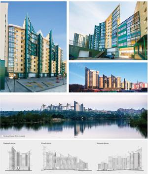 Жилой комплекс «Озерный» в Иркутске