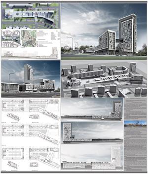 Гостиничный и торгово-развлекательный комплекс в Сарове