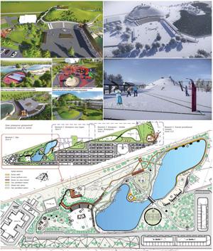 Концепция развития парковой территории ЖК «Пригородный простор»