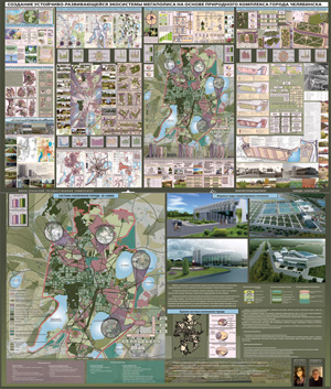 Создание устойчиво развивающейся экосистемы мегаполиса на основе природного комплекса города Челябинска