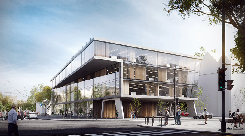 Многофункциональный комплекс в Вильнюсе. Архитектурное бюро «MAD Architects»