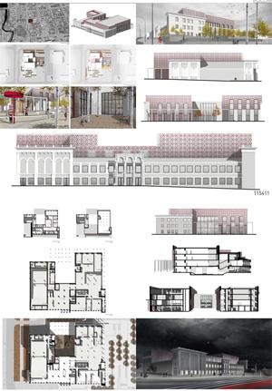 Проект Культурного центра им. В.Г. Короленко в Ижевске. Архитектурное бюро 15 41