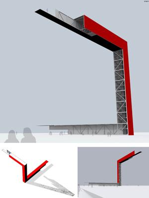 Миры Эль Лисицкого / Worlds of El Lissitzky: Manuel Flores Caballero.  Gravity and movement / Притяжение и движение