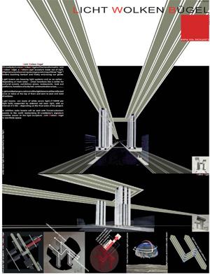 Миры Эль Лисицкого / Worlds of El Lissitzky: Atelier Rang. Licht Wolken Bügel / Свет горизонтального небоскрёба