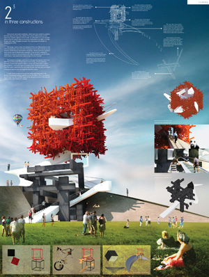Миры Эль Лисицкого / Worlds of El Lissitzky: ATTO Atelier+Abinav Gaurav. The manifesto of the NEW / Памятник НОВОМУ