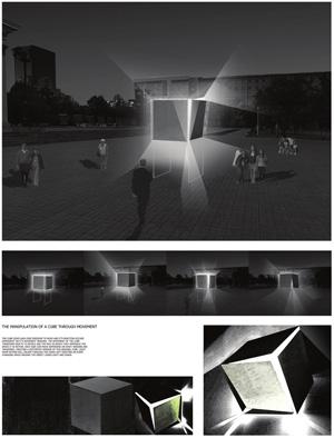 Миры Эль Лисицкого / Worlds of El Lissitzky: Nicholas Smith. Манипуляция кубом через движение / The Manipulation Of A Cube Through Movement