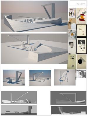 Миры Эль Лисицкого / Worlds of El Lissitzky: Faranak Javaheri. Модели и линии / Models and Lines
