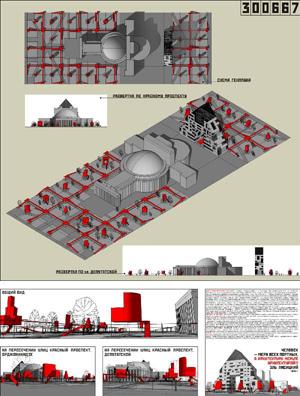 Миры Эль Лисицкого / Worlds of El Lissitzky: Андрей Кравченко. Музей Архитектуры и Дизайна под открытым небом