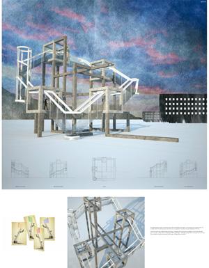 Миры Эль Лисицкого / Worlds of El Lissitzky: Niall Anderson. Плюралистическая трибуна / Pluralistic Tribune