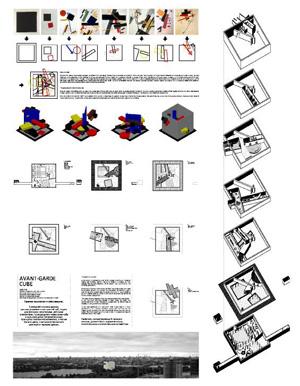 Миры Эль Лисицкого / Worlds of El Lissitzky: Carlos Suarez Kilzi. Авангардный куб / Avant-guard cube