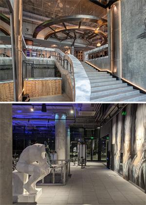Дизайн интерьеров фитнес-клуба ANVIL комплекса «Воробьев дом»