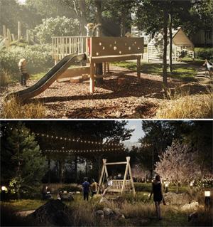 Проект благоустройства придомовой территории «Дача во дворе»