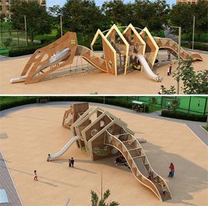 Детская игровая арт-площадка «Дракон»