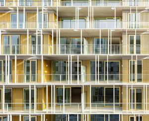 Жилой дом «Линия» в Амстердаме. Orange Architects
