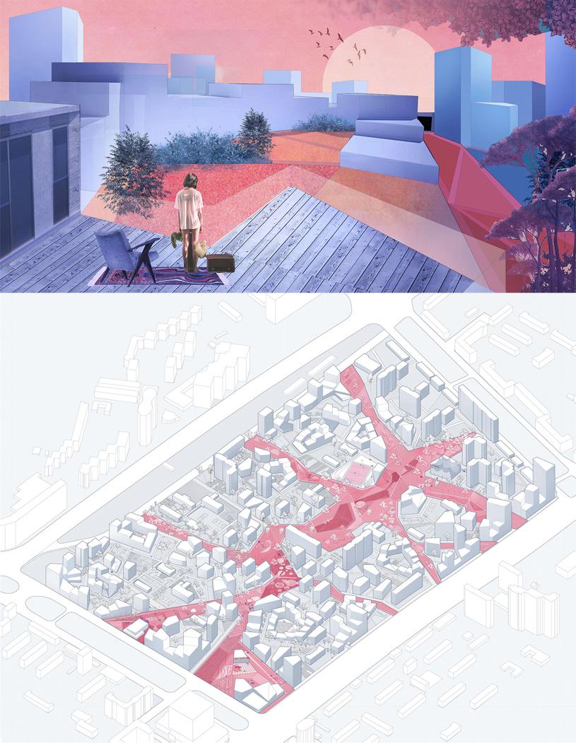 Концепция реновации квартала 20-21 района «Черёмушки». Ульяна Жомнир, Екатерина Пирожкова
