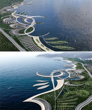 Регенерация промышленной прибрежной морской зоны города Баку под общественные пространства. Монахов Е.С., Грязнова С.Г.
