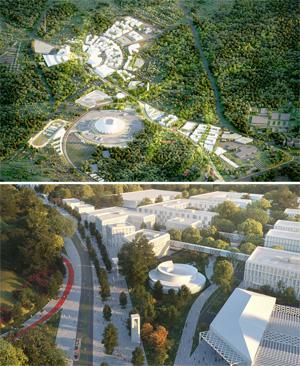 Мастер-план территории, прилегающей к стадиону «Самара Арена». АО «КПМГ»