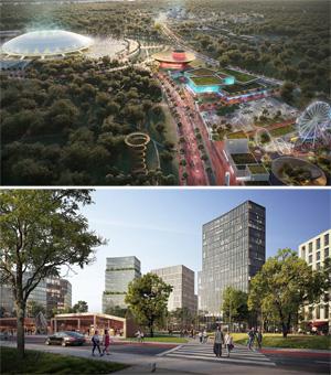 Мастер-план территории, прилегающей к стадиону «Самара Арена». Drees & Sommer